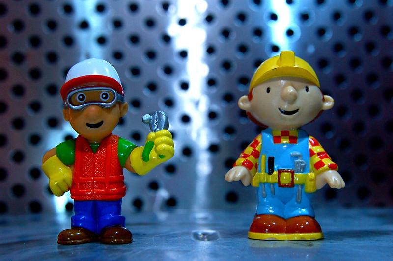 byggemand bob legetøj
