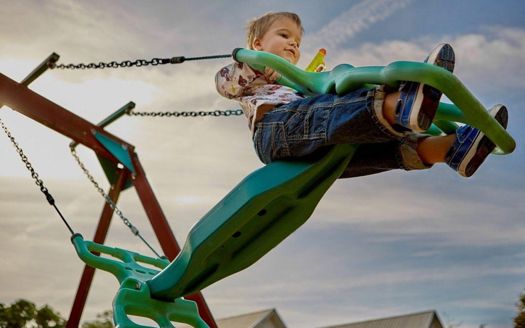 Beskyt børnene med gummifliser
