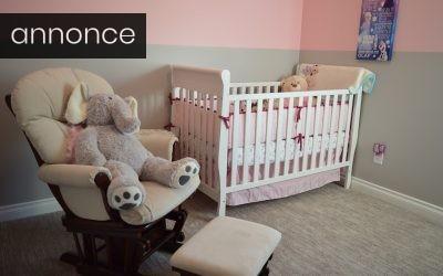 Gør børneværelset til en tryg base – dette skal du bruge