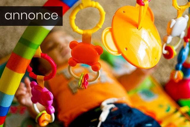 Aktivitetstæpper styrker dit barns udvikling